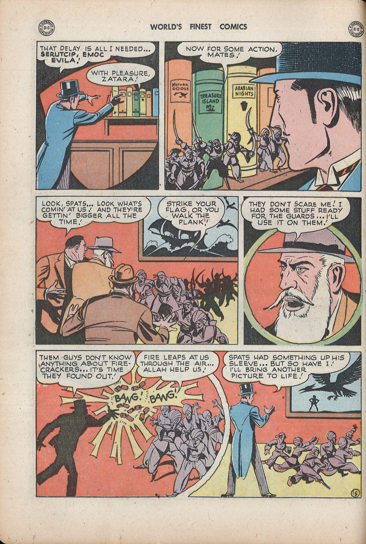 Read online World's Finest Comics comic -  Issue #32 - 32
