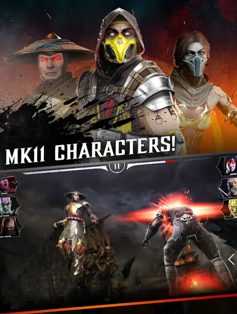 Mortal Kombat Apk+data Download For Android Game