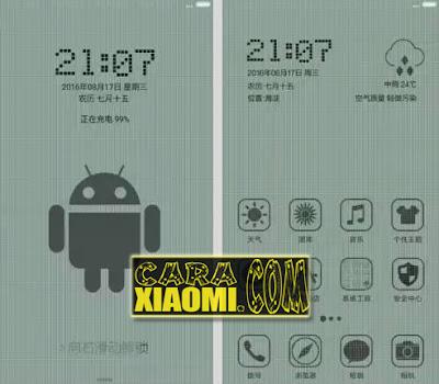 Kumpulan Tema Unik(Themes Monochrome Pixel, Themes Paper & MITU) Untuk Xiaomi MIUI Terbaru MTZ