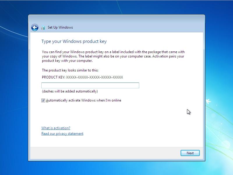 gpp0407: Installing Windows 7