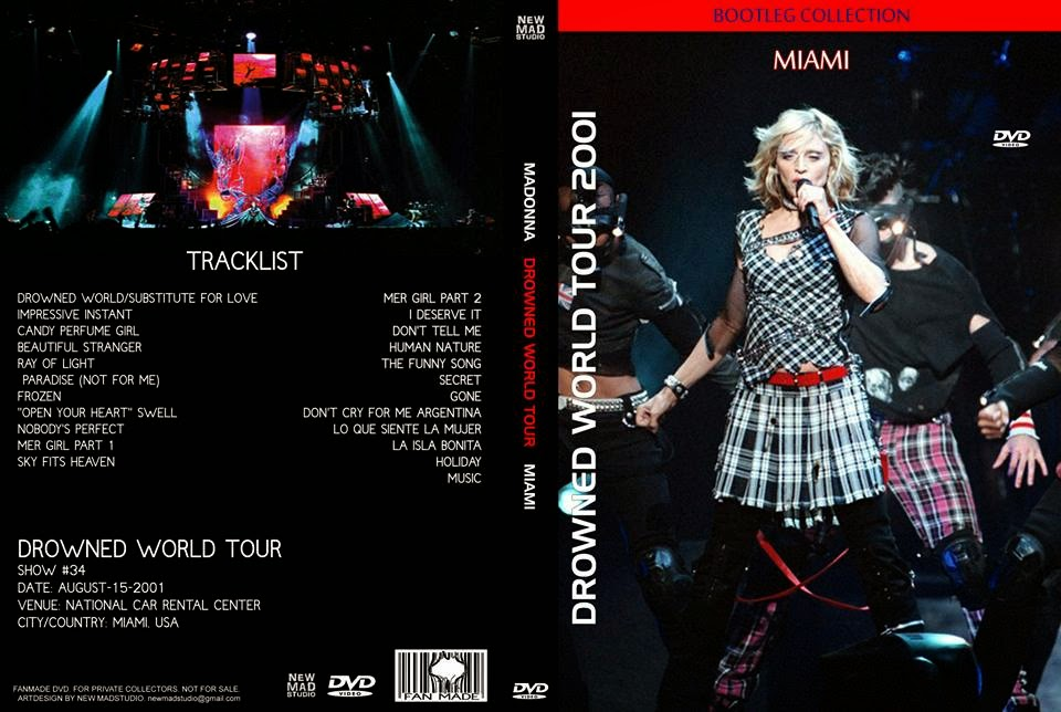 Madonna FanMade Covers: Drowned World Tour - Miami, August