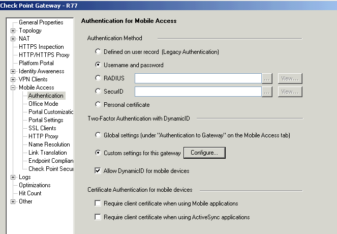 Enable Checkpoint SSL VPN Remote Access: Step by Step Part 4 - Two