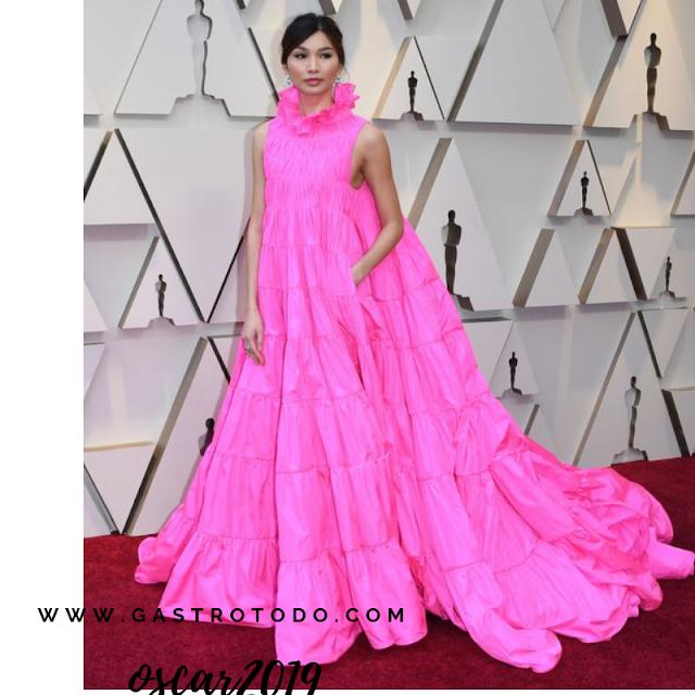 El movimiento va intrinseco en el vestido.