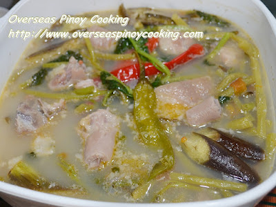 Pork Tail Sinigang sa Sampalok