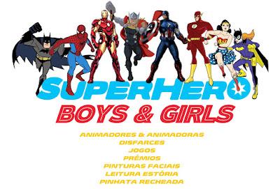 Festa Super-Heróis