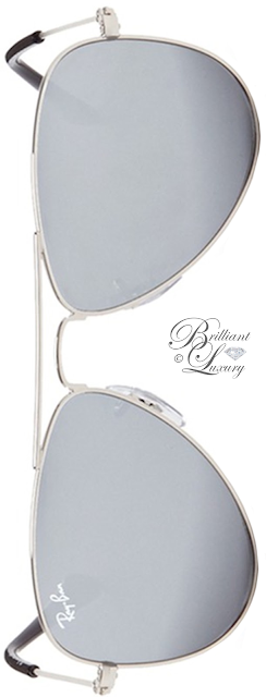 Brilliant Luxury ♦ Ray Ban Aviator Junior Metal Mirror Sunglasses