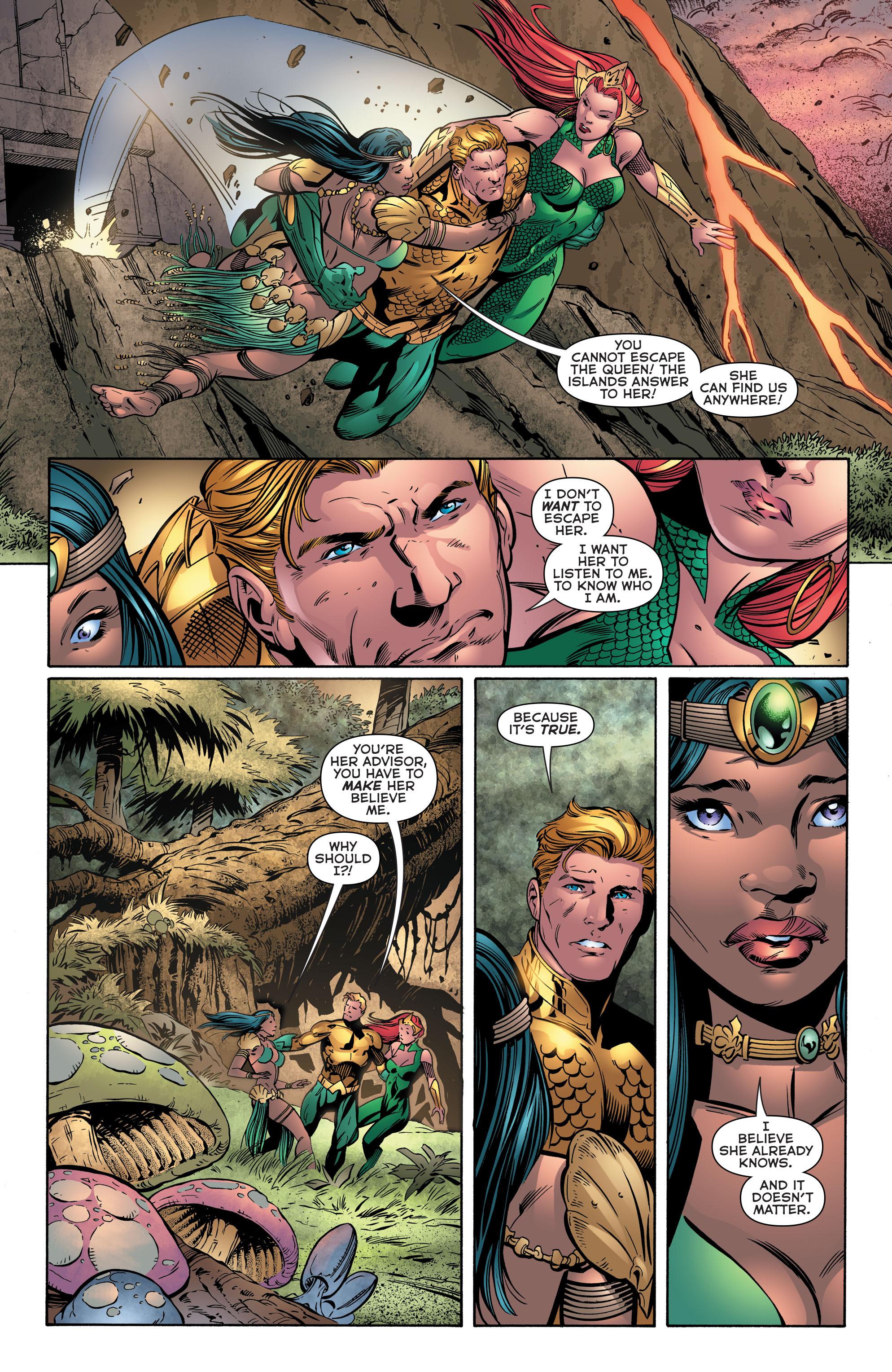 Read online Aquaman (2011) comic -  Issue #39 - 11