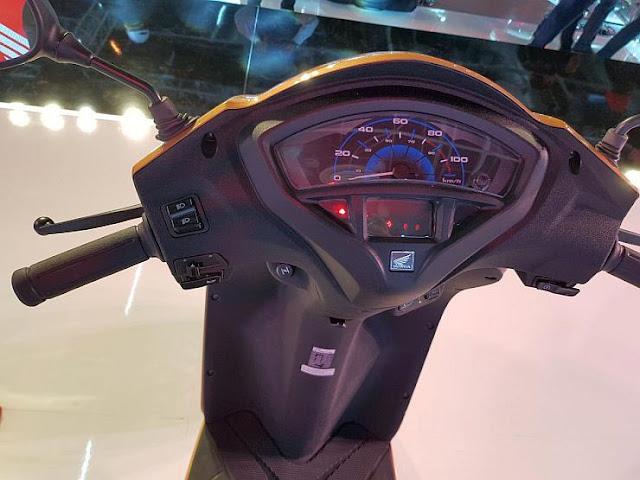 New 2018 Honda Activa 5G speed console image