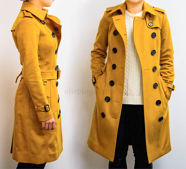 burberry trench coat sale outlet k3cj  Sandringham Fit Cashmere Trench Coat reviewed here