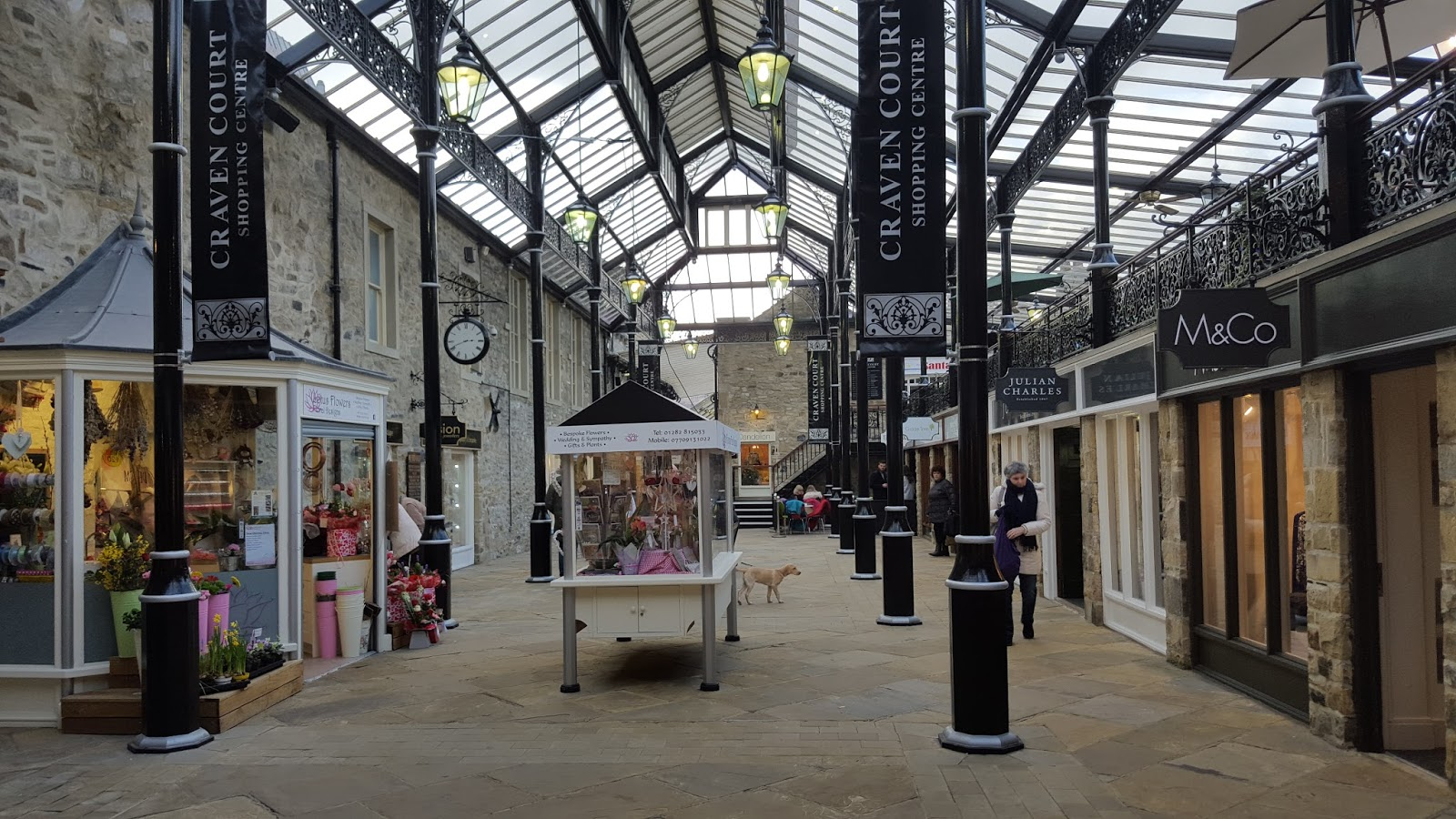 Day trip to Skipton  shopping centre