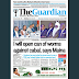 NAIJA NEWSPAPERS: TODAY'S THE GUARDIAN NEWSPAPER HEADLINES [26 OCTOBER, 2017].