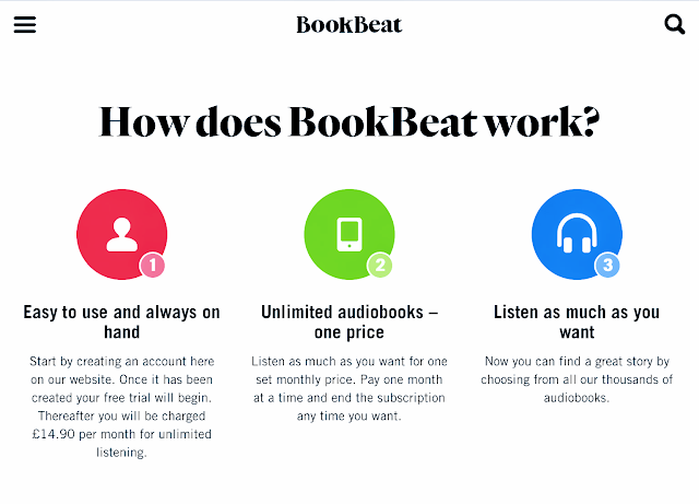 How BookBeat Audiobooks Work