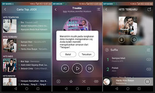 Joox musik for android