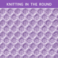 Trellis Cable Knitting in the round