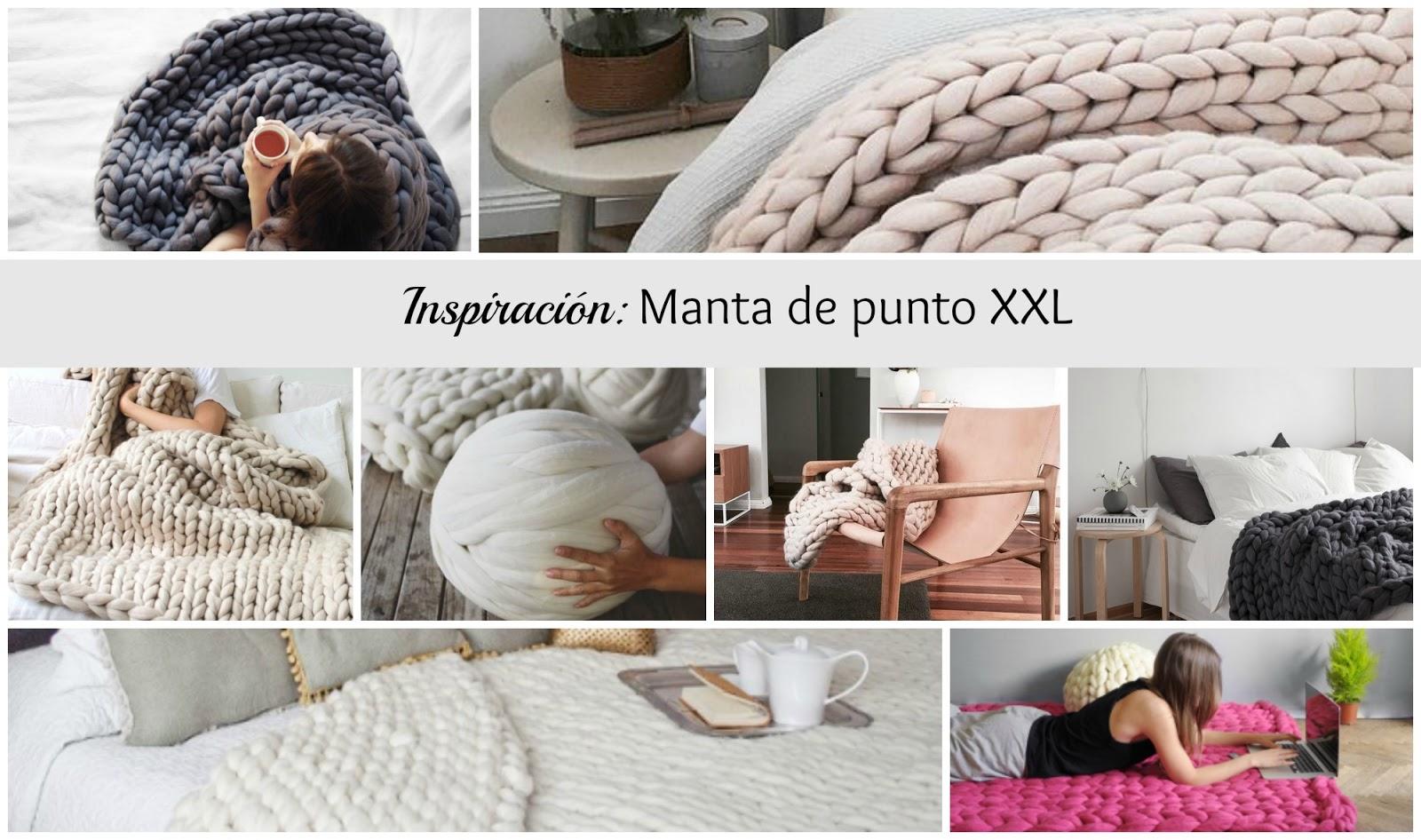 Tendencia: la manta de lana gruesa tamaño XXL para un invierno ...