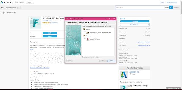 DGamex: Como instalar Autodesk FBX Review