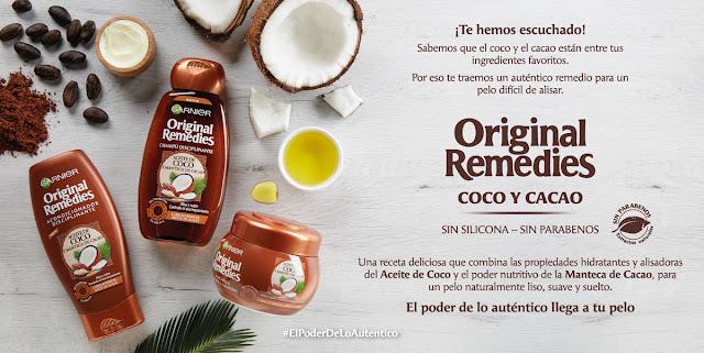 Original Remedies con Aceite de Coco y Manteca de Cacao