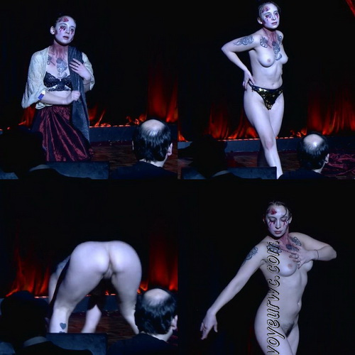 Nude Dance, Theatre and Performance. Brits have whipped their kit off and painted their naked bodies like wild cats (Naked Theater 17)
