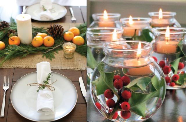 Ideas para decorar tu mesa esta navidad pink chick for Como adornar mi casa en navidad