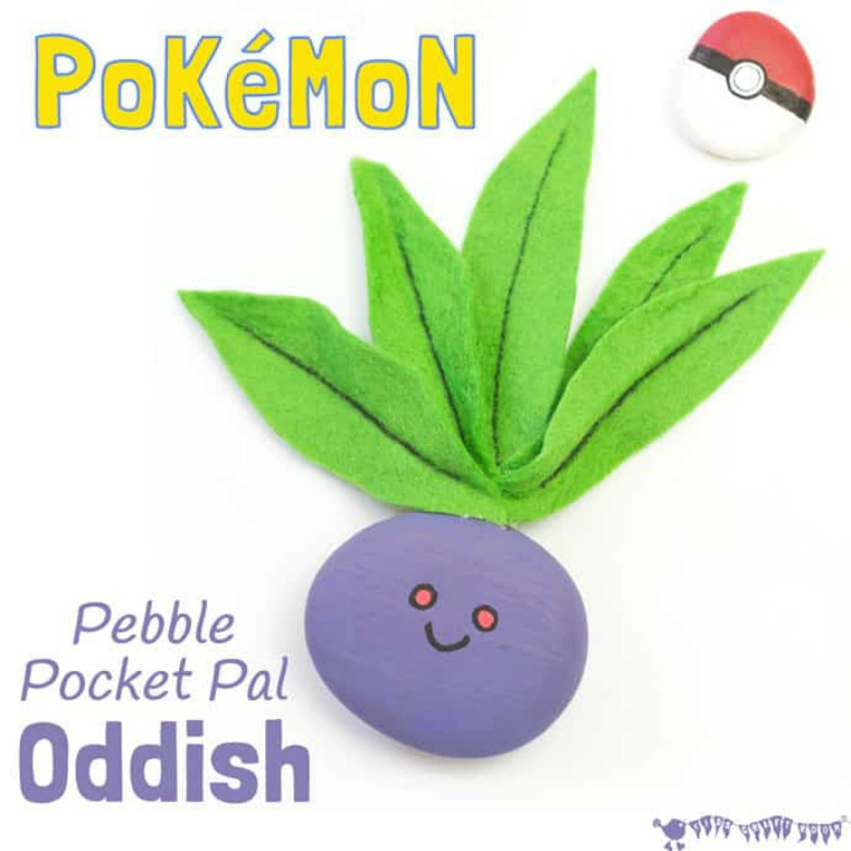 odish pokemon rock craft for kids