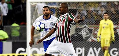 Bahia empata em 1 a 1 com o Fluminense fora de casa