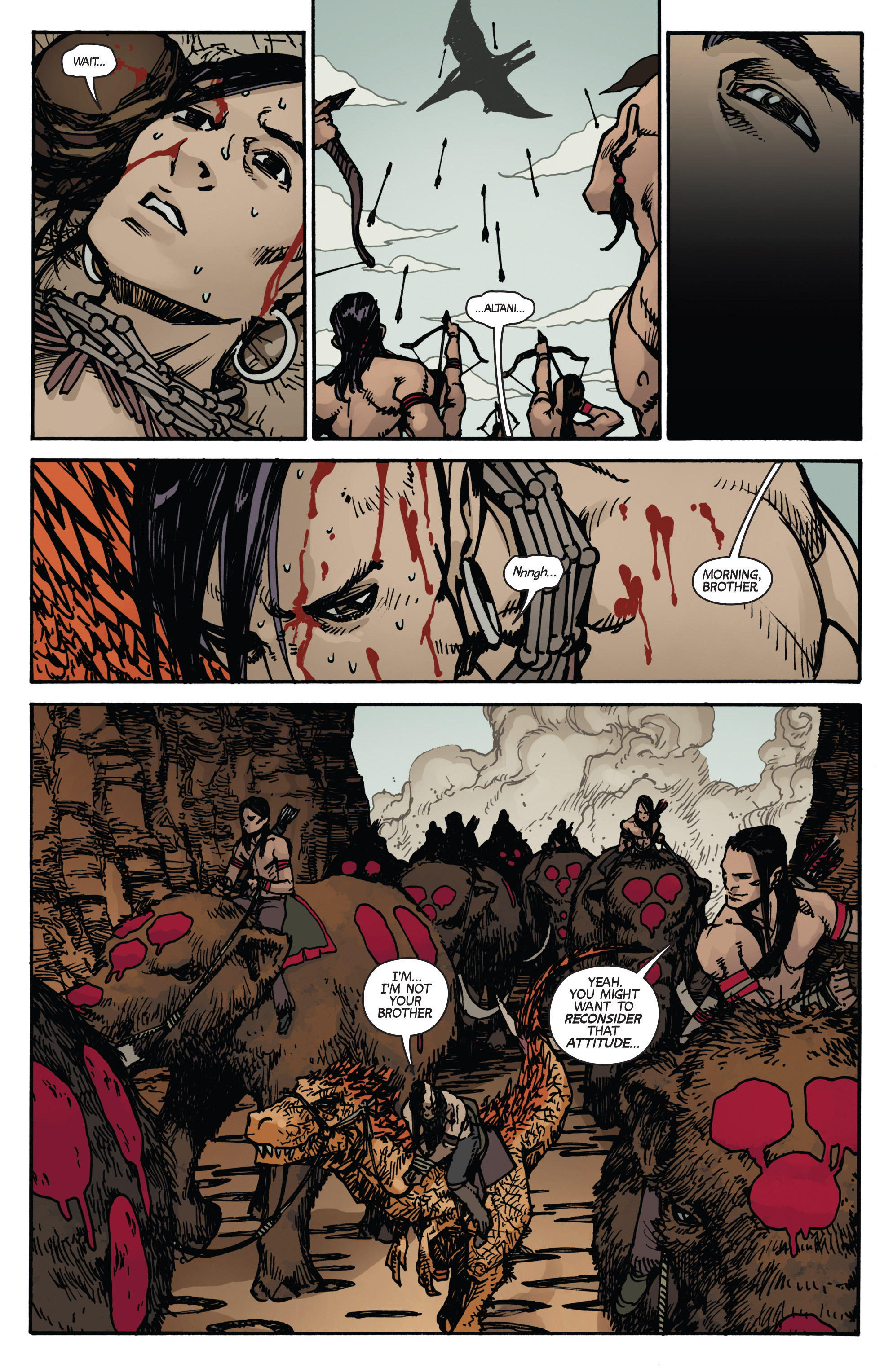 Read online Turok: Dinosaur Hunter (2014) comic -  Issue # _TPB 2 - 23