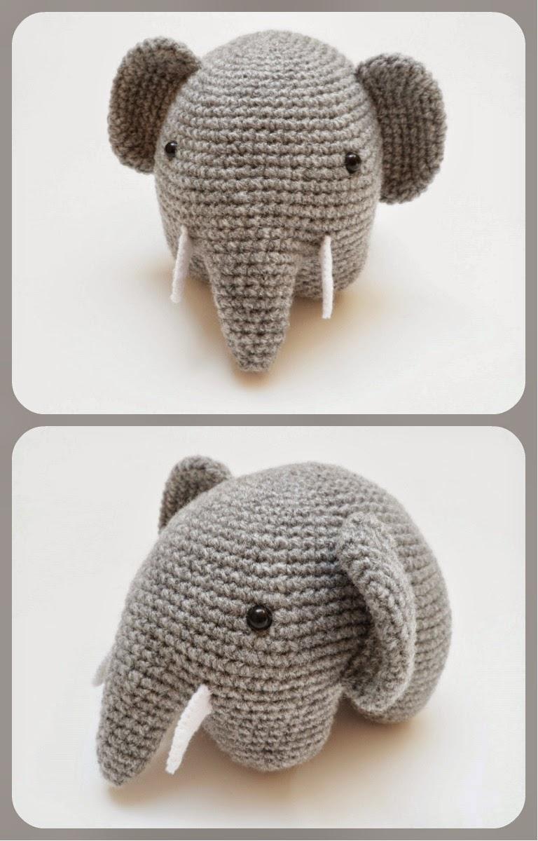 Elefante Amigurumi - YouTube | 1200x768
