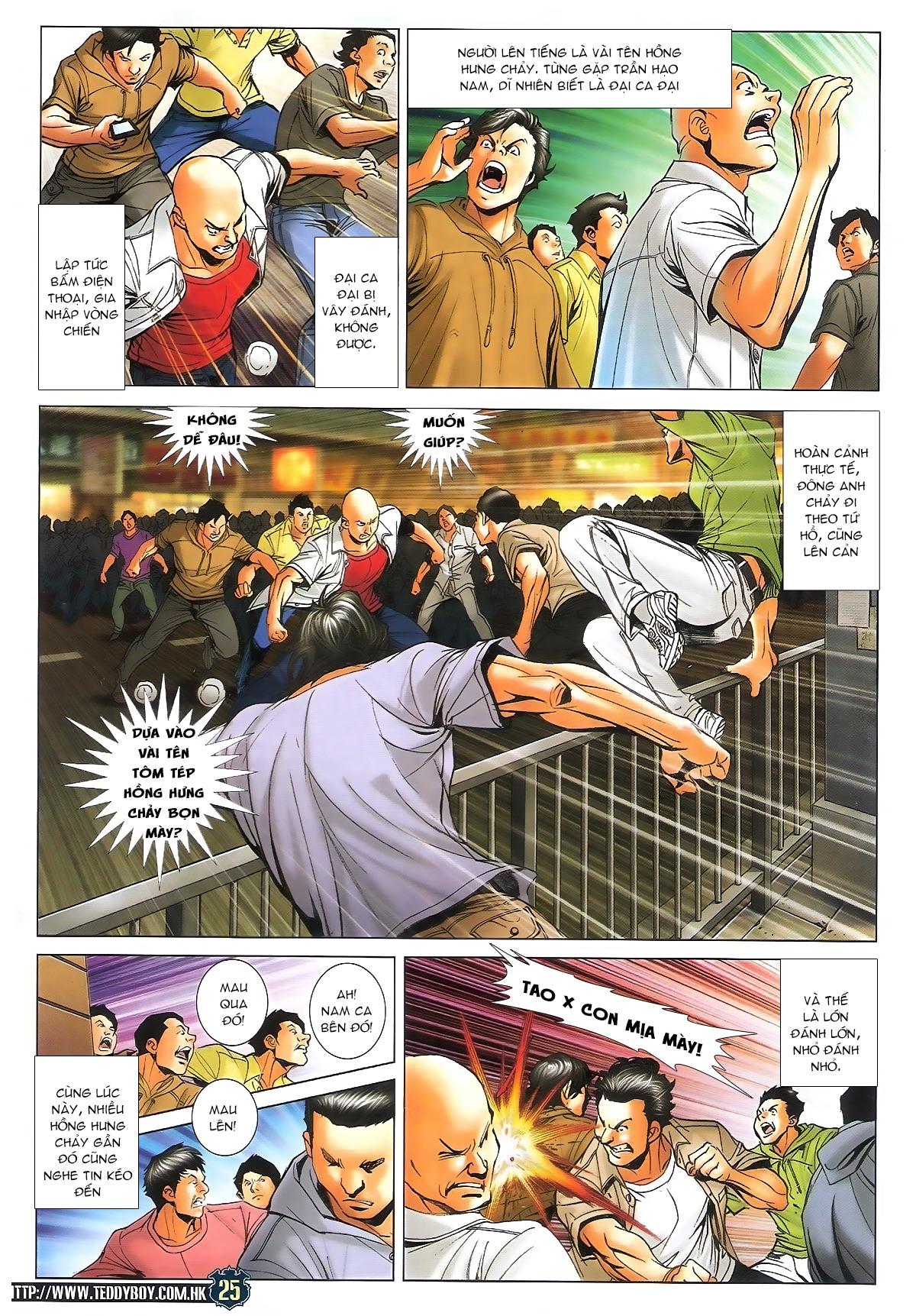 Người Trong Giang Hồ - Ngũ Hổ qui thiên - Chapter 1712: Đông Anh rúng động - Pic 21