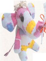 patron gratis elefante de tela | free elephant pattern fabric