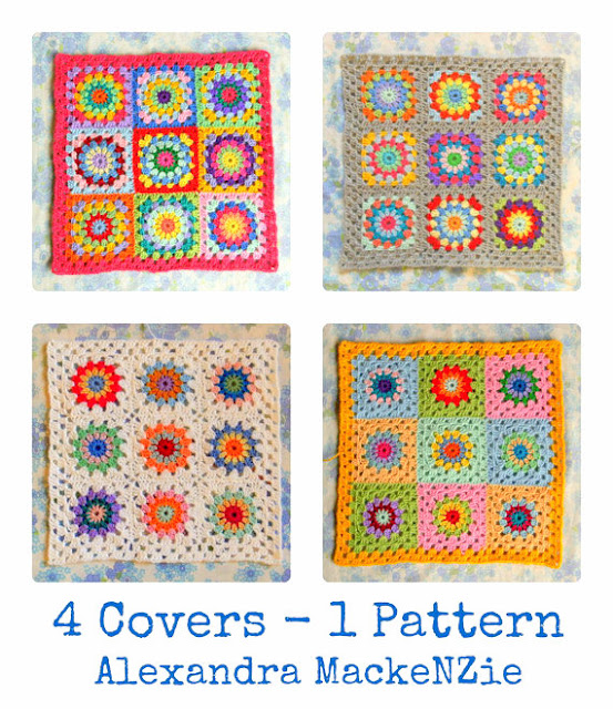 granny square placemat crochet pattern