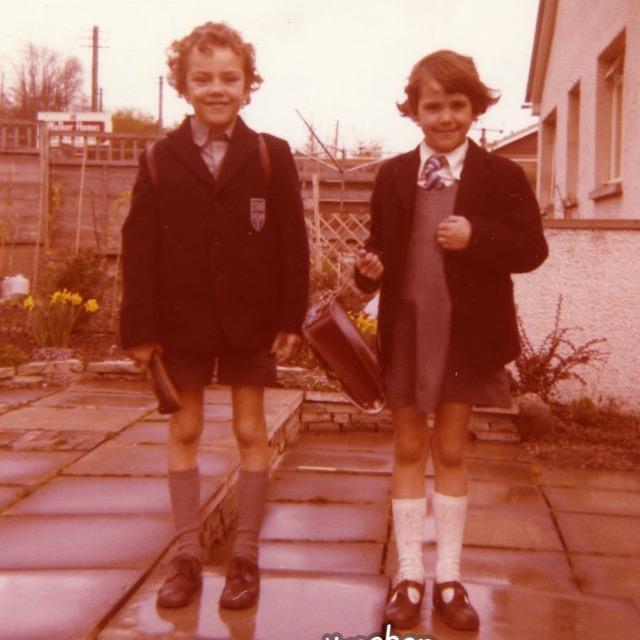 1970s school uniform