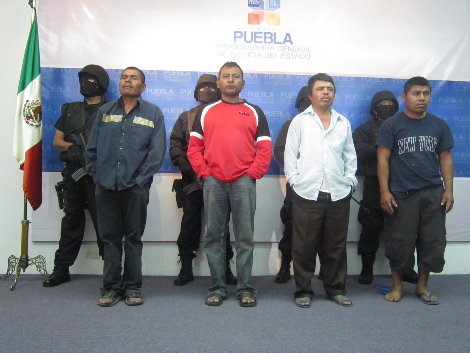 Fiscalía General del Estado de Puebla  Rescata DGADAI ilesa a ... 4b9a040fbb348