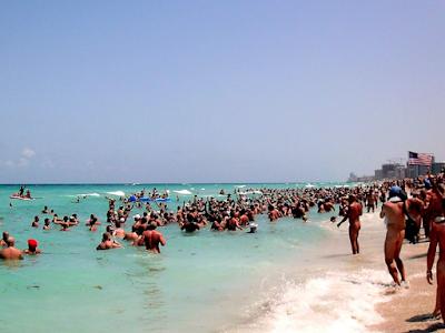 Пляж нудистов Хауловер, Флорида, США (Haulover Beach, Florida, USA) nude