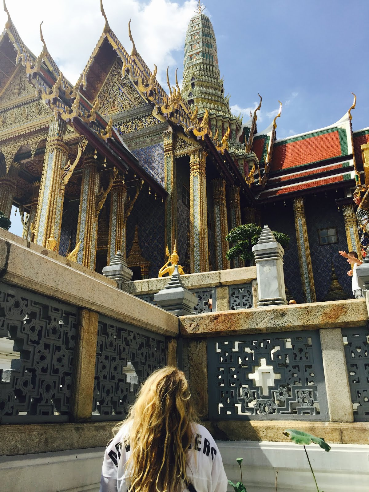 Wandering around Bangkok at the Grand palace - 3 Days in Bangkok - A City Guide