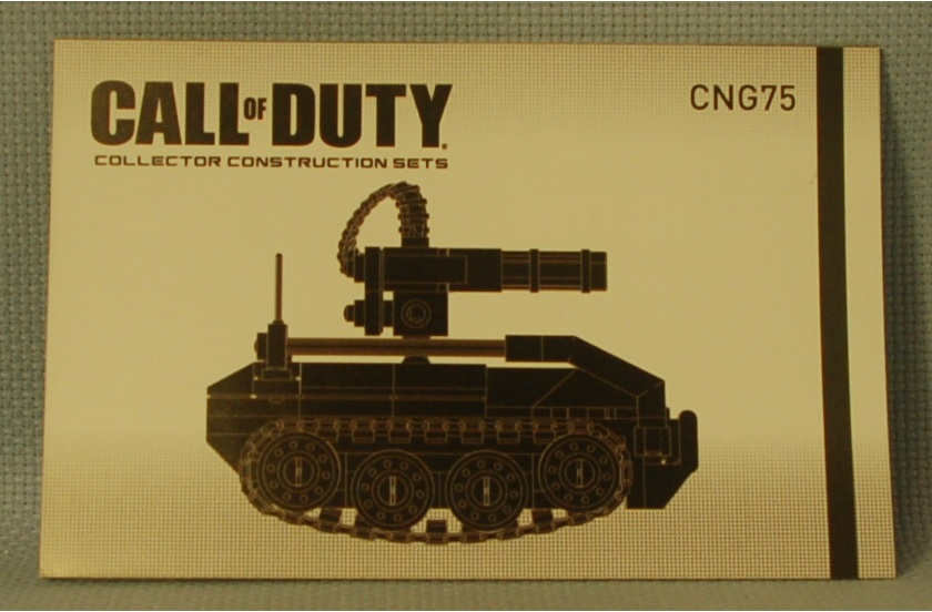 The Mobile Frame Garage Purity Mega Bloks Cng75 Call Of Duty Ugv Drone