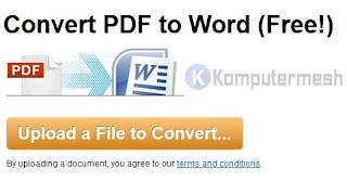 13 Website / Situs Convert PDF ke Word Online (Gratis)