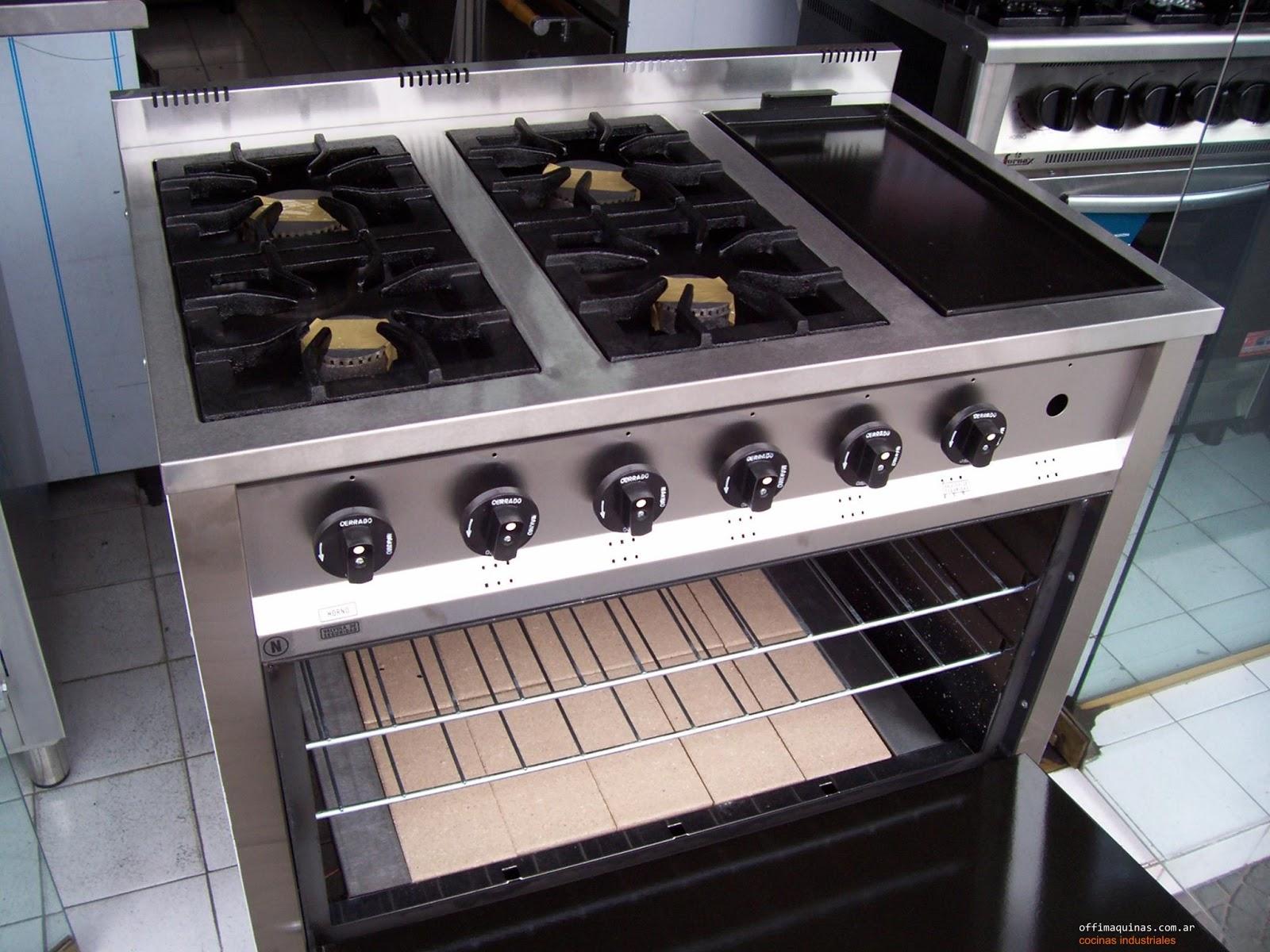 Cocinas industriales familiares cocinas industriales para - Plancha de cocina para empotrar ...