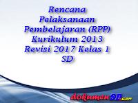 Download ( RPP ) Kurikulum 2013 Revisi 2017 Kelas 1 SD