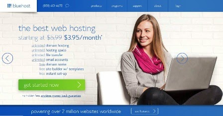 Bluehost WordPress Hosting Discount : Save 56% On Yearly Hosting : eAskme