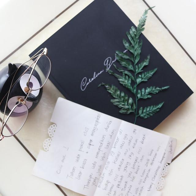 a gift from Christine Adiwiguna