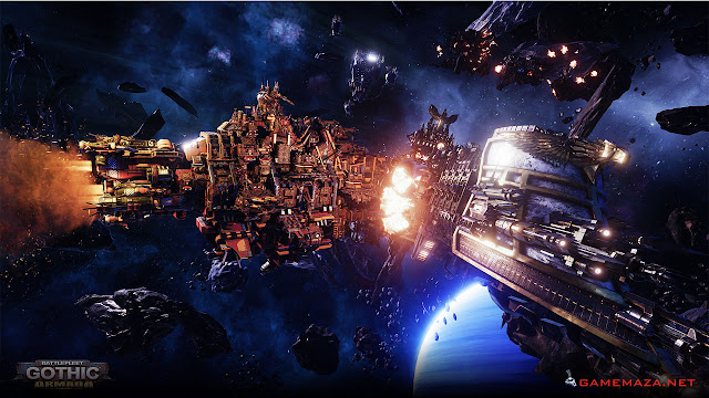 Battlefleet Gothic Armada Gameplay Screenshot 2