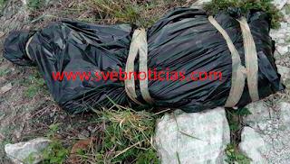 Tiran dos cuerpos embolsados este Sabado en Chilpancingo Guerrero