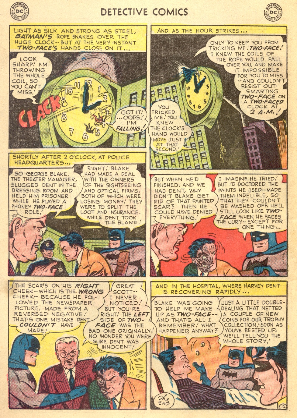 Read online Detective Comics (1937) comic -  Issue #187 - 14