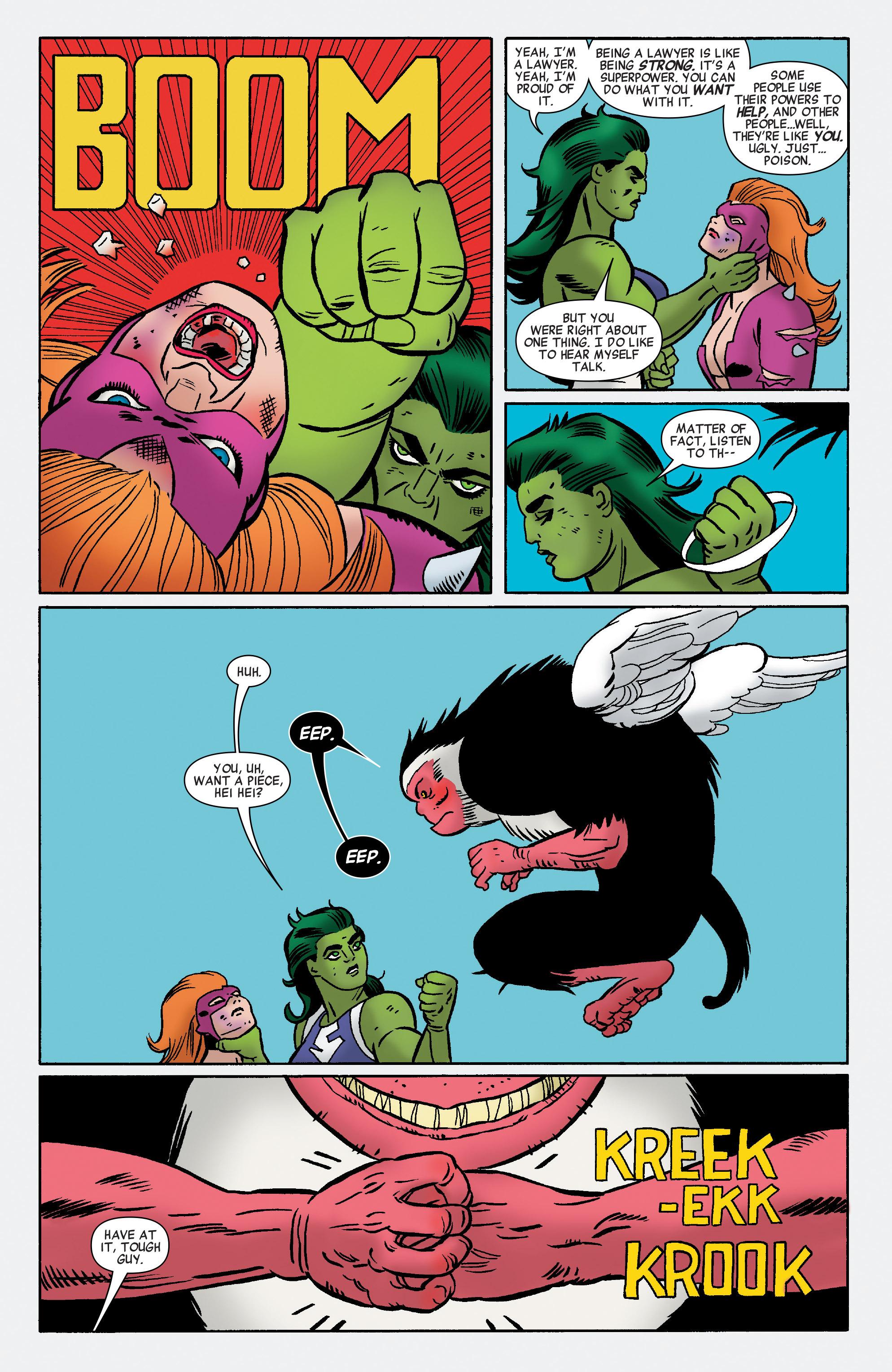Read online She-Hulk (2014) comic -  Issue #11 - 12