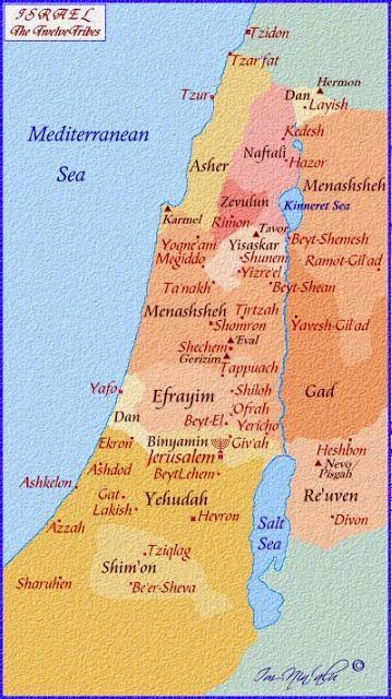 12 suku israel