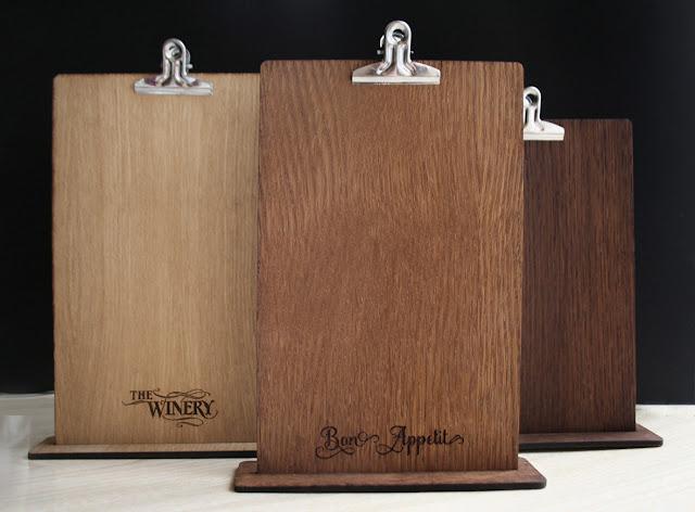 Менюта за заведения, менюта с твърди корици, битови менюта, дървени клипбордове, меню клипборд, дървени менюта, корици от дърво, менюта изгодно, стилни менюта