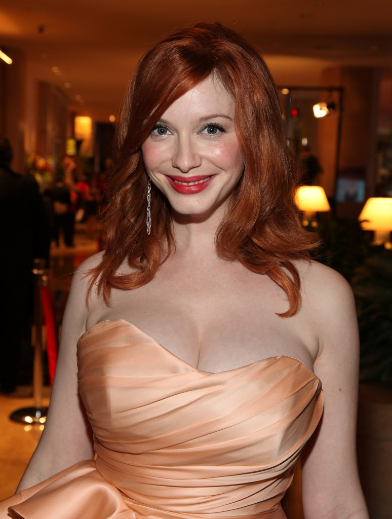 Christina hendricks cum tribute