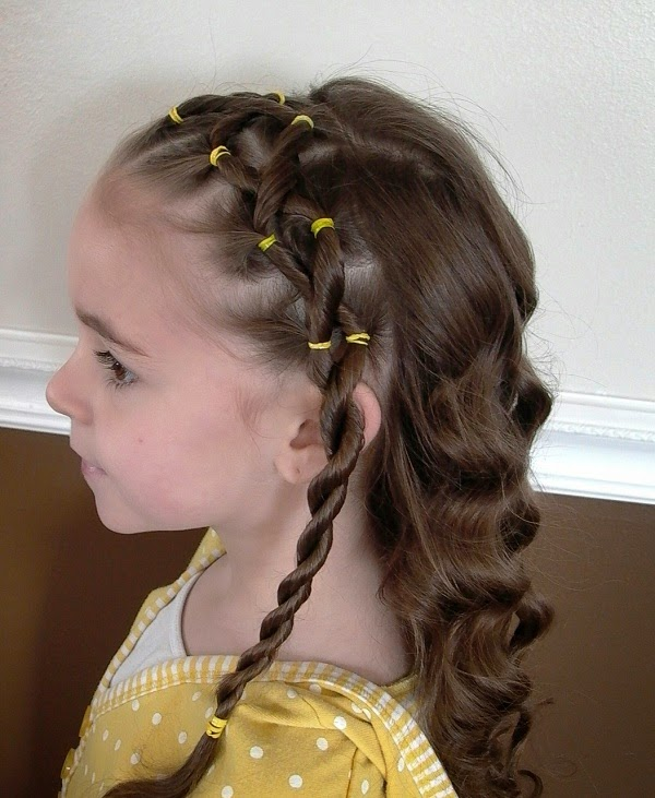 Awesome Top 24 Easy Little Black Girl Wedding Hairstyles Hairstyles Gallery Hairstyles For Women Draintrainus