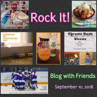 Blog With Friends, a multi-blogger project based post incorporating a theme, Rock It | Featured on www.BakingInATornado.com