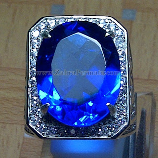 Cincin Batu Blue Obsidian - ZP 863